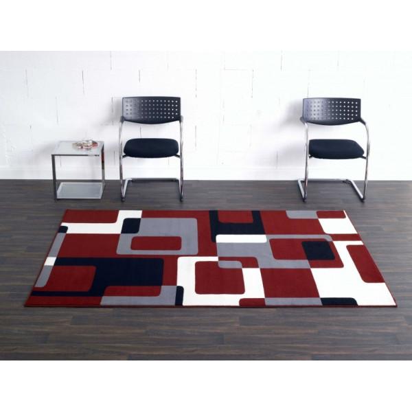 Hanse Home Collection koberce Kusový koberec Hamla 102014, Rozměr 80x200 cm% Červená - Vrácení do 1 roku ZDARMA vč. dopravy