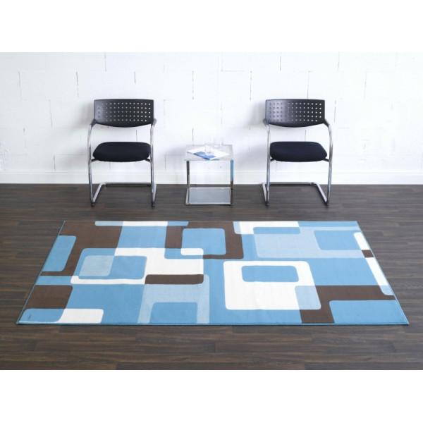 Hanse Home Collection koberce Kusový koberec Hamla 102013, Rozměr 80x150 cm% Modrá - Vrácení do 1 roku ZDARMA vč. dopravy