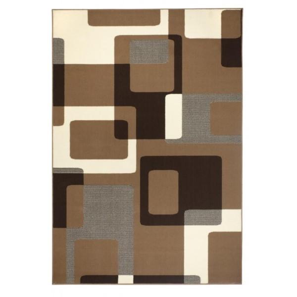 Hanse Home Collection koberce Kusový koberec Hamla 101602, koberců 80x150 cm Hnědá - Vrácení do 1 roku ZDARMA