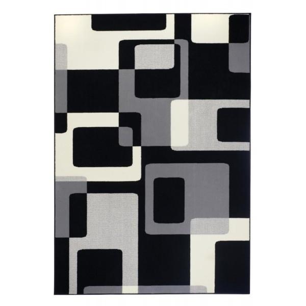 Hanse Home Collection koberce Kusový koberec Hamla 101601, koberců 120x170 cm Černá - Vrácení do 1 roku ZDARMA