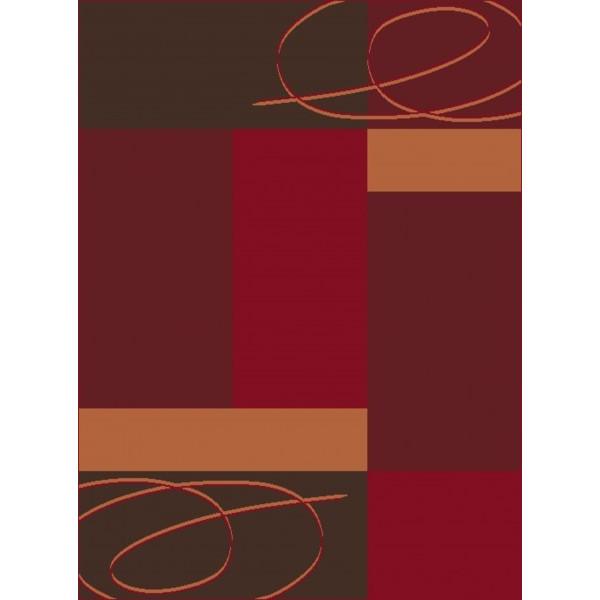 Hanse Home Collection koberce Kusový koberec Prime Pile 101085, Rozměr 80x200 cm% Červená - Vrácení do 1 roku ZDARMA vč. dopravy