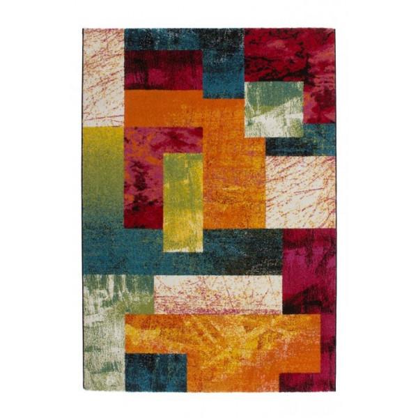 Lalee koberce Kusový koberec Esprit 303 rainbow, kusových koberců 80x150 cm% - Vrácení do 1 roku ZDARMA vč. dopravy