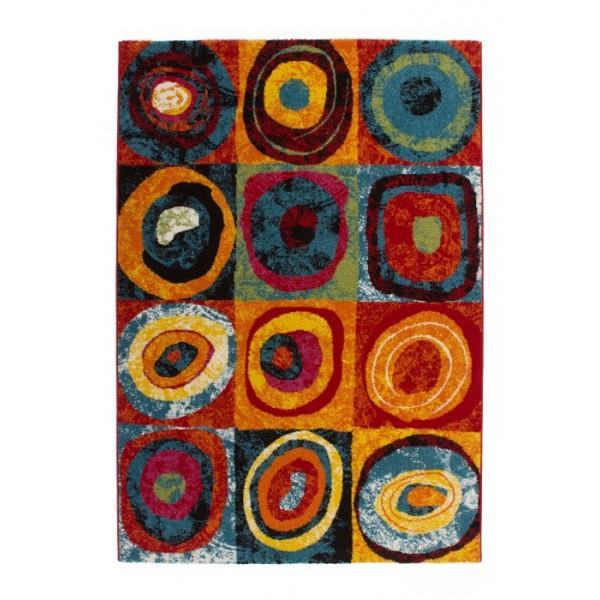 Lalee koberce Kusový koberec Esprit 307 rainbow, kusových koberců 80x150 cm% - Vrácení do 1 roku ZDARMA vč. dopravy