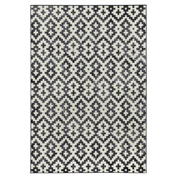 Zala Living - Hanse Home koberce Kusový koberec Capri 102544, koberců 70x140 cm Černá - Vrácení do 1 roku ZDARMA
