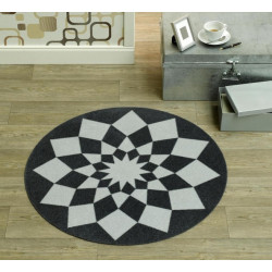 Kusový koberec Deko round 102303