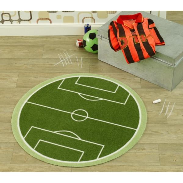 Zala Living - Hanse Home koberce Kusový koberec Deko round 102301, koberců 100 cm kruh Zelená - Vrácení do 1 roku ZDARMA