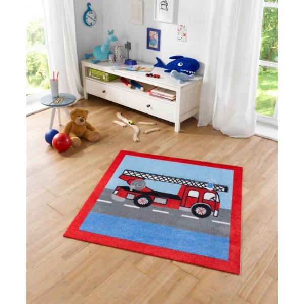 Zala Living - Hanse Home koberce Kusový koberec Kiddy 102384, 100x100% Červená - Vrácení do 1 roku ZDARMA vč. dopravy