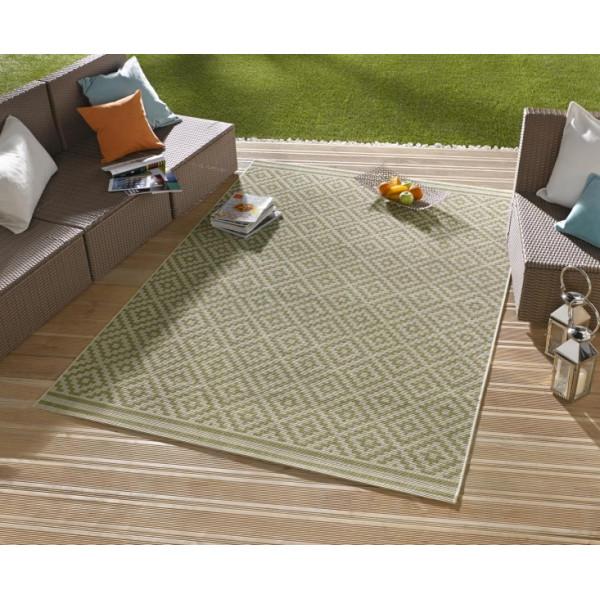 Bougari - Hanse Home koberce Kusový koberec Meadow 102465, kusových koberců 80x150 cm% Zelená - Vrácení do 1 roku ZDARMA vč. dopravy