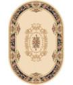 Kusový koberec ovál Solid 01 VPV