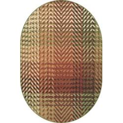 Kusový koberec ovál Solid 83 AVA