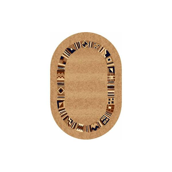 Sintelon koberce Kusový koberec ovál Practica 38 BPB, koberců 160x230 cm Hnědá - Vrácení do 1 roku ZDARMA