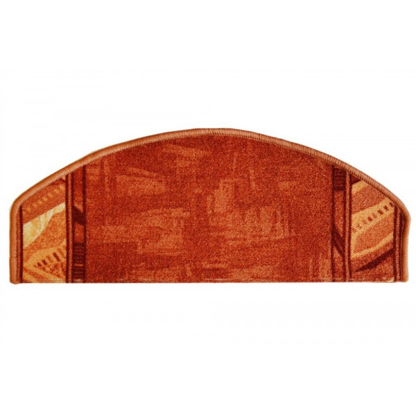 Vopi koberce Nášlapy na schody terra Corrido, kusových koberců 28 x 65 cm půlkruh% - Vrácení do 1 roku ZDARMA vč. dopravy