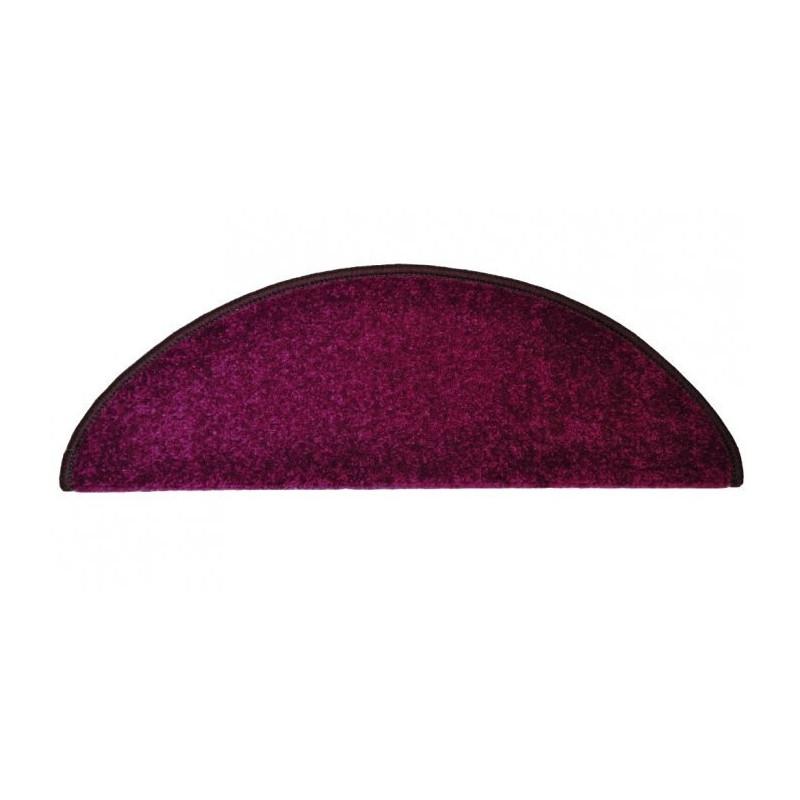 Nášlapy na schody fialový Eton půlkruh