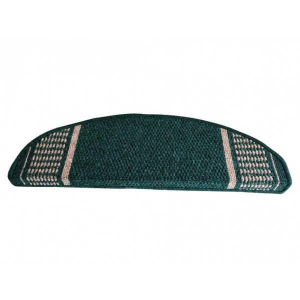 Vopi koberce Nášlapy na schody zelený Promenade, koberců 25 x 80 cm obdélník Zelená - Vrácen