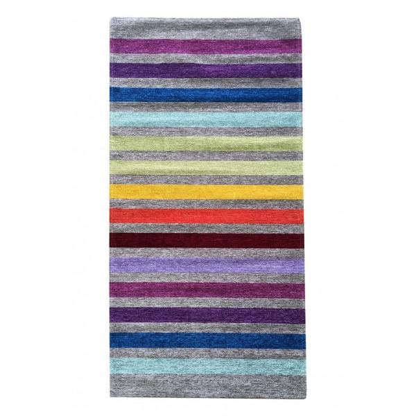Oriental Weavers koberce Ručně tkaný běhoun Laos 39/999X , kusových koberců 75x160 cm% Šedá - Vrácení do 1 roku ZDARMA vč. dopravy