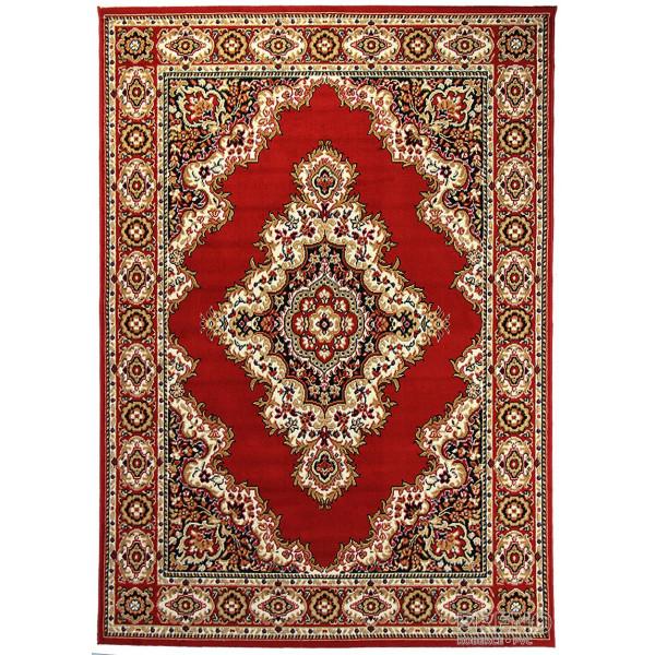 Sintelon koberce Kusový koberec Teheran Practica 58/CMC, koberců 150x225 Červená - Vrácení do 1 roku ZDARMA