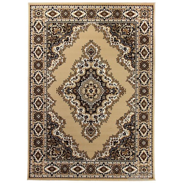 Sintelon koberce Kusový koberec Teheran Practica 58/EVE, koberců 150x225 Hnědá - Vrácení do 1 roku ZDARMA