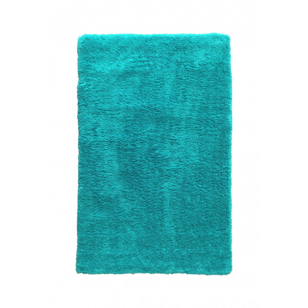 Lalee koberce Kusový koberec Velvet 500 Aqua green, koberců 60x110 cm Modrá - Vrácení do 1 roku ZDARMA