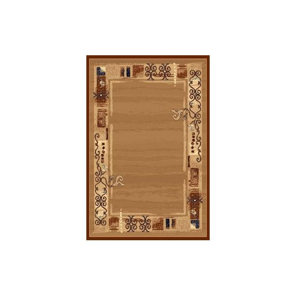Sintelon koberce Kusový koberec Practica 40 BPD, koberců 200x300 cm Hnědá - Vrácení do 1 roku ZDARMA