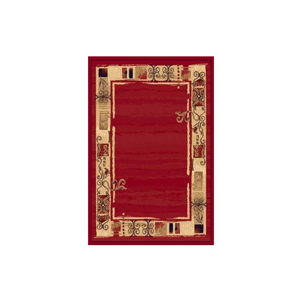 Sintelon koberce Kusový koberec Practica 40 CPC, 200x300 cm% Červená - Vrácení do 1 roku ZDARMA vč. dopravy