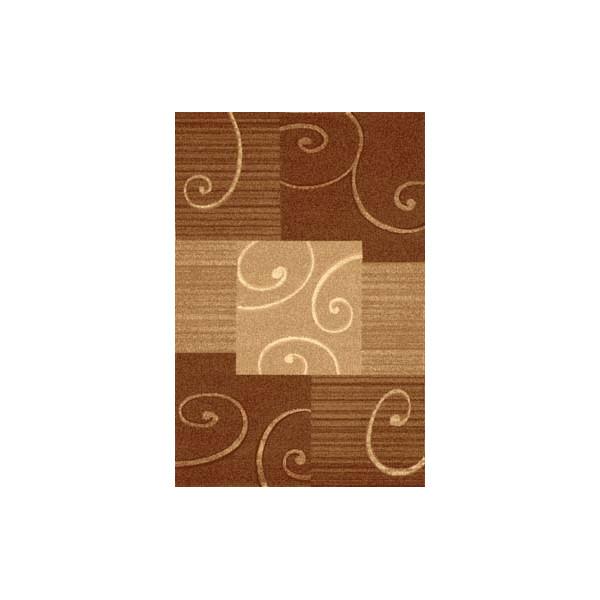 Sintelon koberce Kusový koberec Practica 54 DBD, koberců 70x140 cm Hnědá - Vrácení do 1 roku ZDARMA