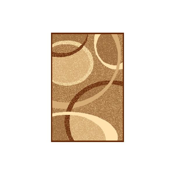 Sintelon koberce Kusový koberec Practica 53 EBD, 200x300 cm% Hnědá, Béžová - Vrácení do 1 roku ZDARMA vč. dopravy