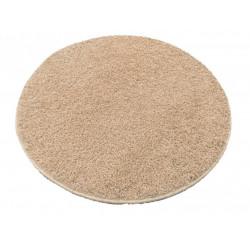 AKCE: 120x120 cm Kruh koberec Color shaggy béžový