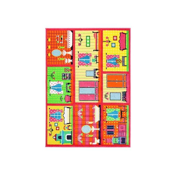 Sintelon koberce Kusový koberec Play 89/RNR, koberců 80x150 cm Žlutá - Vrácení do 1 roku ZDARMA