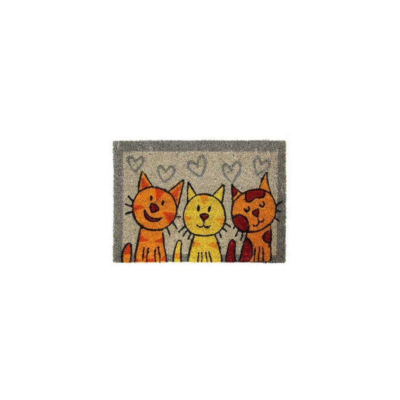 Rohožka Kokos Tři kočky