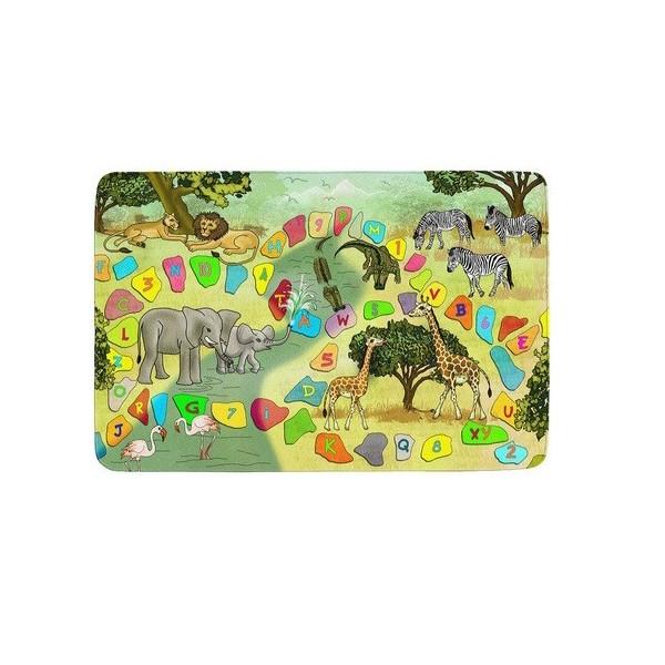 Kusový koberec Safari, koberců 76,5x117 Zelená - Vrácení do 1 roku ZDARMA