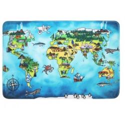 Protiskluzový kusový koberec World map