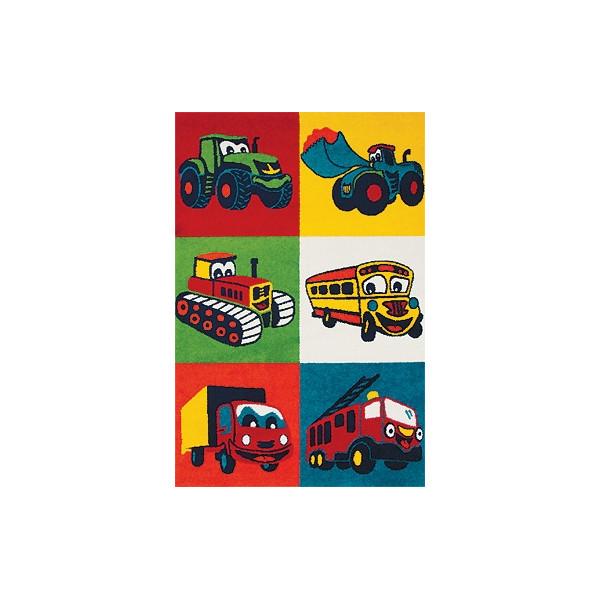 Sintelon koberce Kusový koberec Play 76 KYK, kusových koberců 160x230 cm% Zelená - Vrácení do 1 roku ZDARMA vč. dopravy