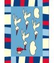 Kusový koberec Toys C114 M