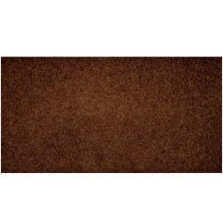 Kusový koberec Color Shaggy tmavě hnědý