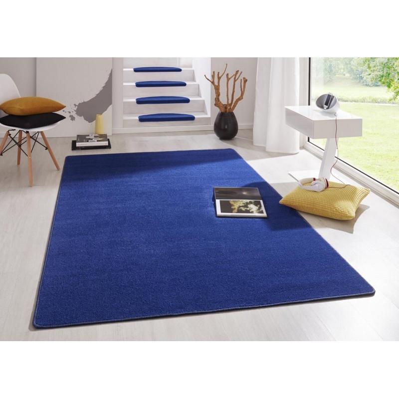 Modrý kusový koberec Fancy 103007 Blau