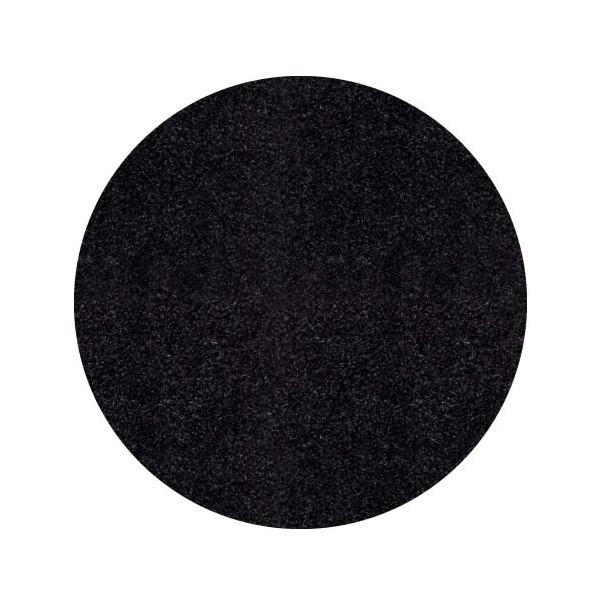 Ayyildiz koberce Kusový koberec Life Shaggy 1500 antra kruh, koberců 80x80 cm kruh Černá - Vrácení do 1 roku ZDARMA