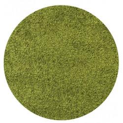 Kusový koberec Life Shaggy 1500 green kruh
