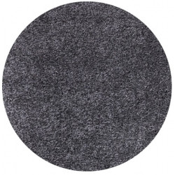 Kusový koberec Life Shaggy 1500 grey kruh