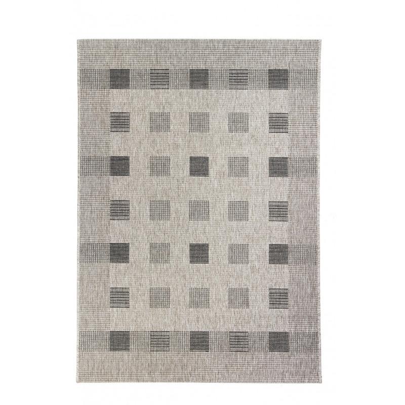 Kusový koberec FLOORLUX 20203 Silver/Black