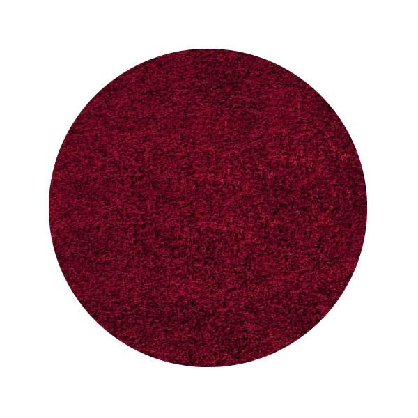 Ayyildiz koberce Kusový koberec Life Shaggy 1500 red kruh, kusových koberců 80x80 cm kruh% Červená - Vrácení do 1 roku ZDARMA vč. dopravy + možnost zaslání vzorku zdarma
