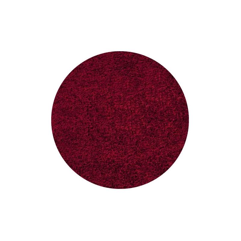 Kusový koberec Life Shaggy 1500 red kruh