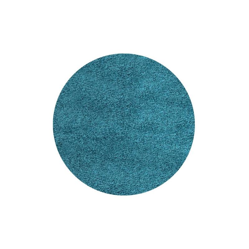 Kusový koberec Life Shaggy 1500 tyrkys kruh