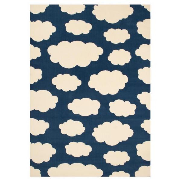 Kusový koberec Bambini 103058 Dunkelbau 140x200cm
