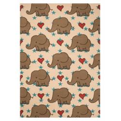 Kusový koberec Bambini 103059 Elefanten 140x200cm