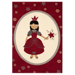 Kusový koberec Bambini 103065 Prinzessin 140x200 cm