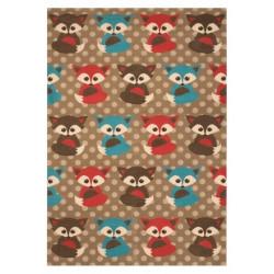 Kusový koberec Bambini 103066 Fuchs 140x200 cm