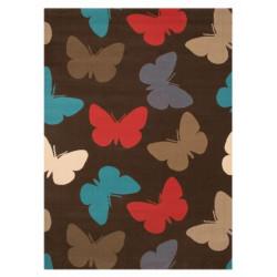 Kusový koberec Bambini 103071 Schmetterlinge 140x200 cm
