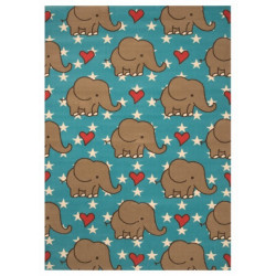 Kusový koberec Bambini 103073 Blau 140x200 cm