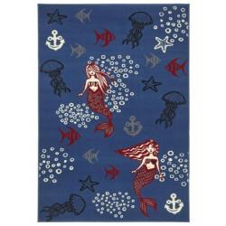 Kusový koberec Bambini 102793 Meerjungfrau 140x200 cm