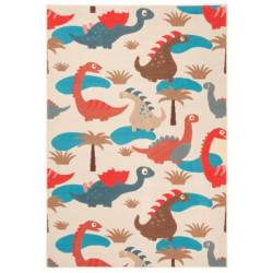 Kusový koberec Bambini 102790 Blau Rot 140x200 cm